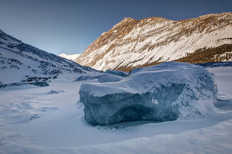 Big block of ice